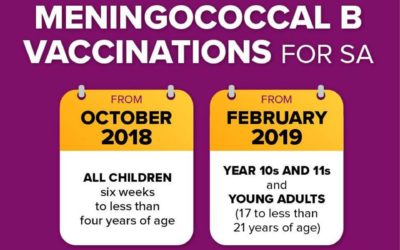 FREE Meningococcal B vaccinations